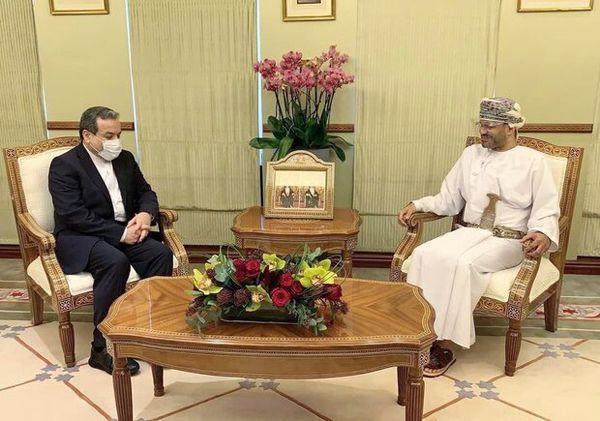 Araghchi, Omani FM discuss regional developments