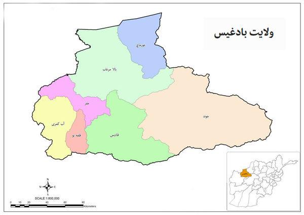شهر قلعه نو مرکز استان بادغیس افغانستان به کنترل طالبان درآمد